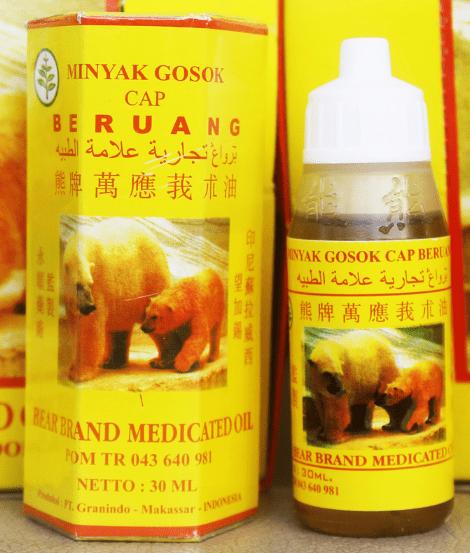 Minyak Angin Cap Beruang
